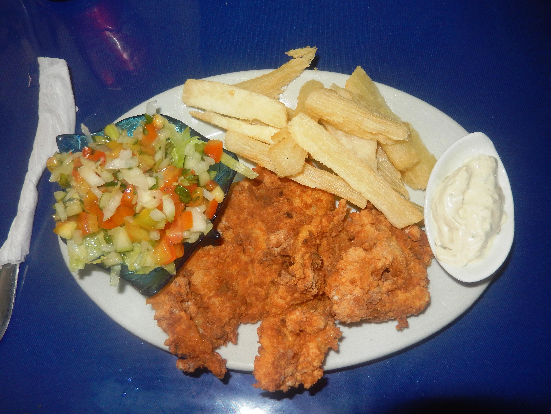 El pulpo seafood restaurant visit puerto armuelles for Filet of fish